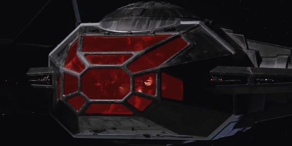 Desvelado el caza estelar de Kylo Ren en 'Star Wars: Los últimos Jedi' TIE Silencer 004