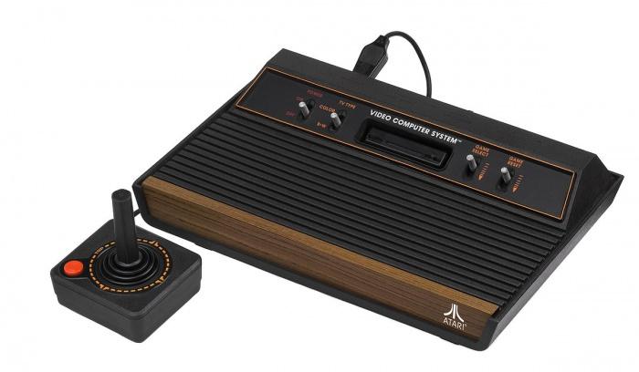 Atari 2600 Wood 4Sw Set