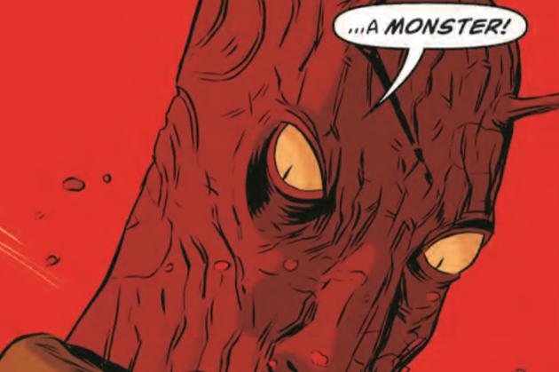 Black Hammer Monstruo