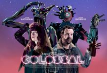 Colossal póster - Anne Hathaway - Jason Sudeikis