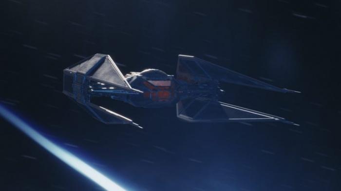 Desvelado el caza estelar de Kylo Ren en 'Star Wars: Los últimos Jedi' TIE Silencer 005