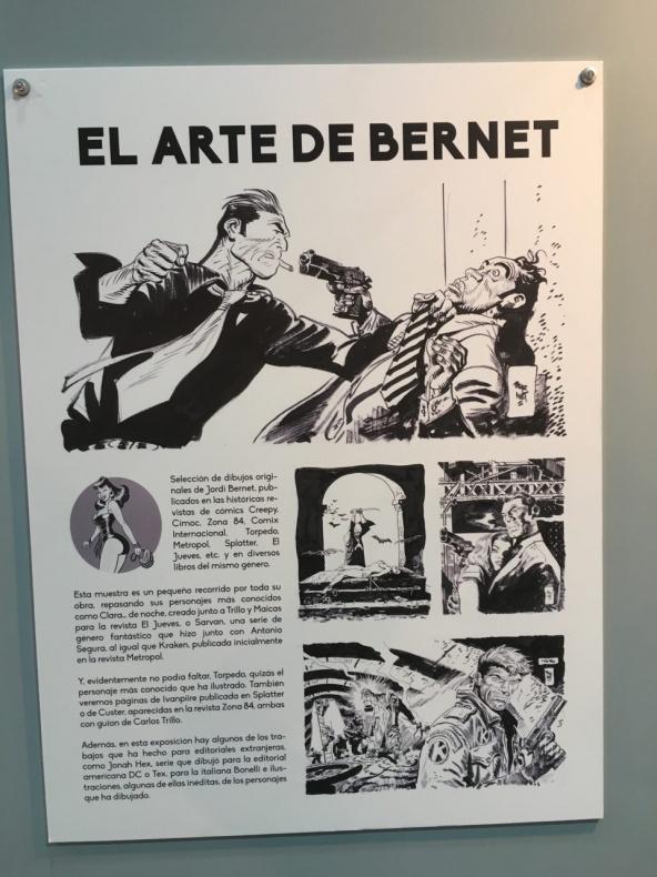 El arte de Bernet