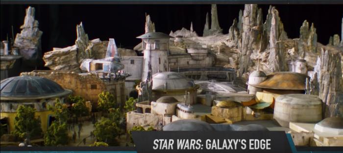 Star Wars Parque temático