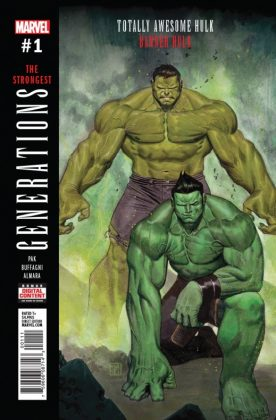 Generations Banner Hulk & The Totally Awesome Hulk 5
