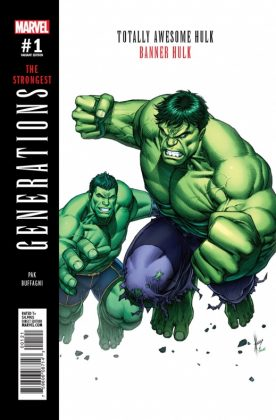 Generations Banner Hulk & The Totally Awesome Hulk 6
