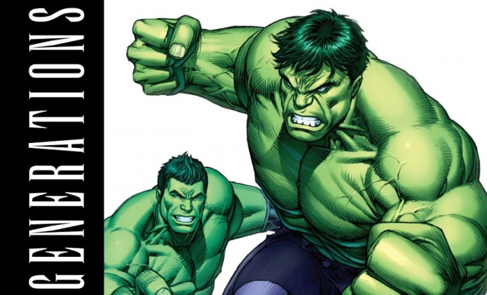 Generations Banner Hulk & The Totally Awesome Hulk 8