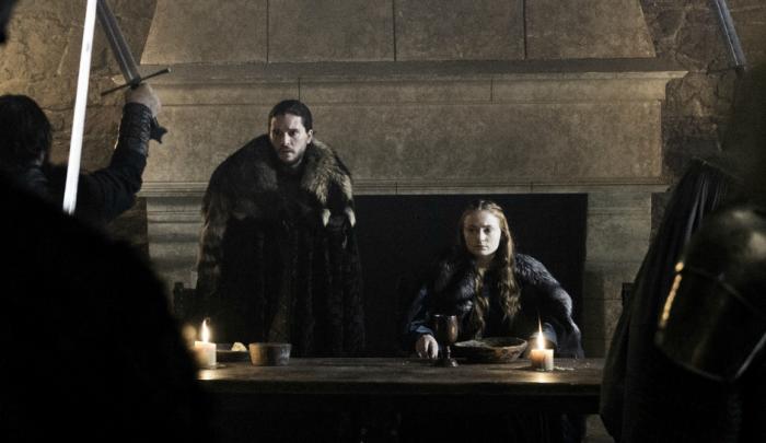 Juego de Tronos - Sansa y Jon