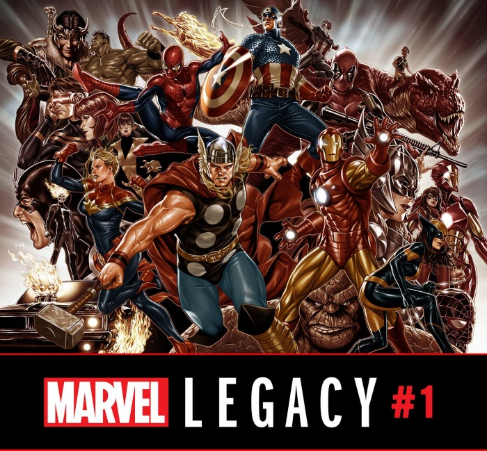 Marvel Legacy 1 Mark Brooks variant