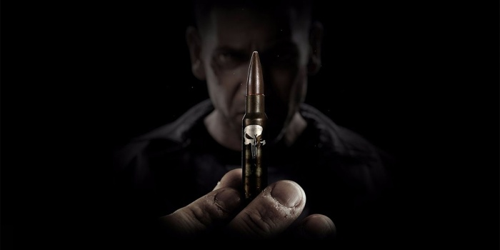 Marvel The Punisher Jon Bernthal Bullet Logo