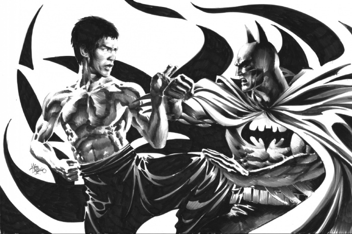 Mike Deodato Jr. Batman Bruce Lee