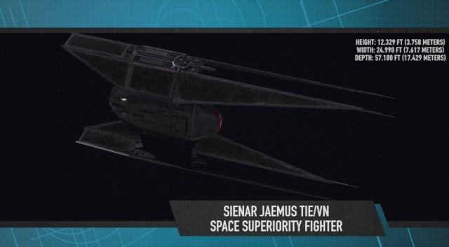 Desvelado el caza estelar de Kylo Ren en 'Star Wars: Los últimos Jedi' TIE Silencer 002