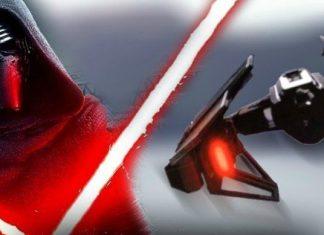 Desvelado el caza estelar de Kylo Ren en 'Star Wars: Los últimos Jedi'