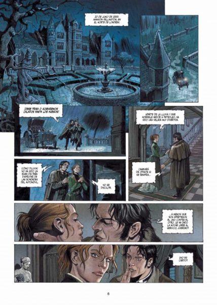 Reseña de 'Sherlock Holmes: Las crónicas de Moriarty' 003