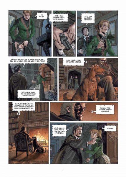 Reseña de 'Sherlock Holmes: Las crónicas de Moriarty' 004