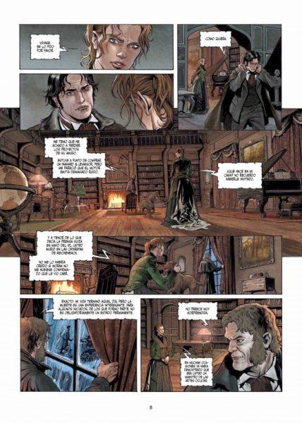 Reseña de 'Sherlock Holmes: Las crónicas de Moriarty' 005