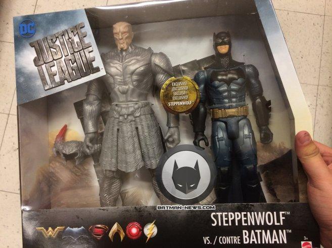 Steppenwolf y Batman