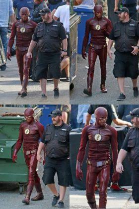 Wally West como Flash