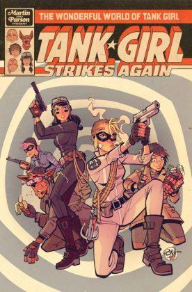 Wonderful World Tank Girl Cover A Parson