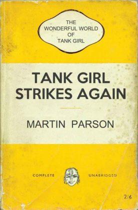Wonderful World Tank Girl Cover C Alan Martin Bookshelf Variant
