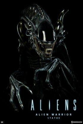 Sideshow presenta una estatua del Alien Warrior 001