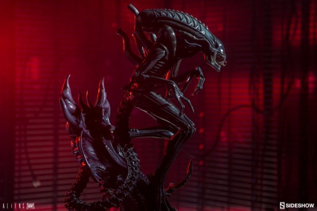 Sideshow presenta una estatua del Alien Warrior 003
