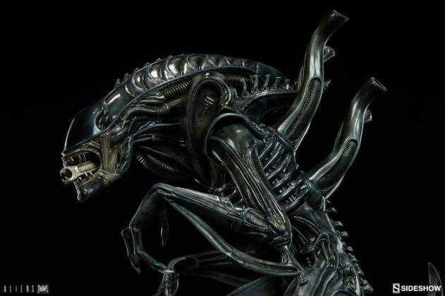 Sideshow presenta una estatua del Alien Warrior 014