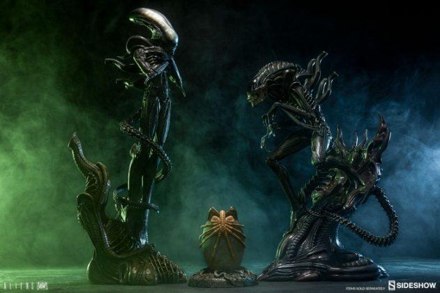 aliens alien warrior statue 200469 24