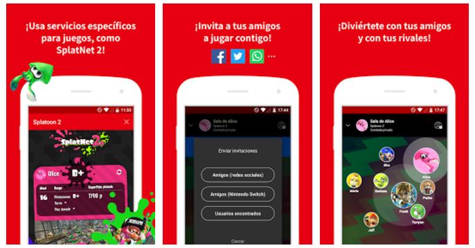 Ya está disponible la app de Nintendo Switch para jugar online