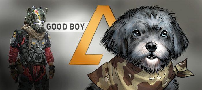'Titanfall 2' rinde homenaje a Onyx el perro fallecido de un jugador