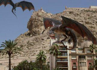 canción de hielo y fuego - castillo santa bárbara dragones