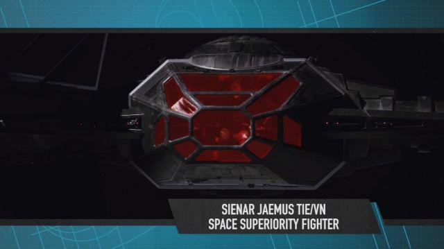 Desvelado el caza estelar de Kylo Ren en 'Star Wars: Los últimos Jedi' TIE Silencer 003