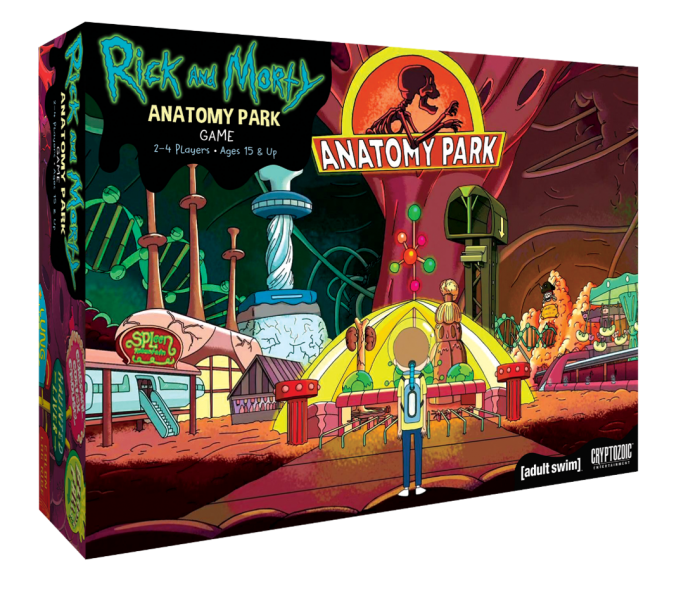rick and morty anatomy park 1