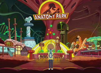 rick and morty anatomy park