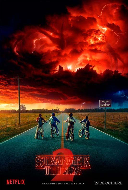 stranger things temporada 2 poster