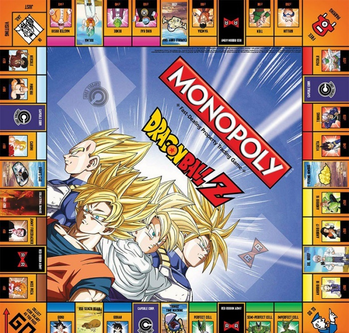 'Dragon Ball Z' tendrá su propio Monopoly (4)
