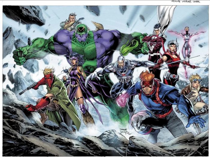 Absolute WildC.A.T.S 1