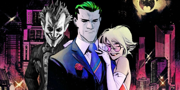 Batman Comic Joker Cured White Knight