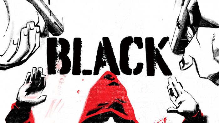 Black comic