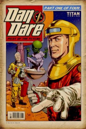 Dan Dare Cover C CHRIS WESTON RETRO 600x900