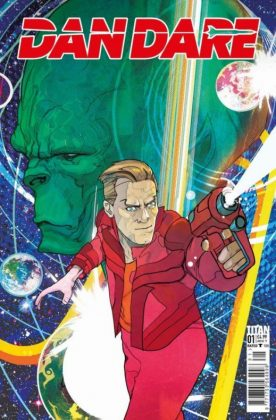 Dan Dare Cover A CHRISTIAN WARD 1 600x910