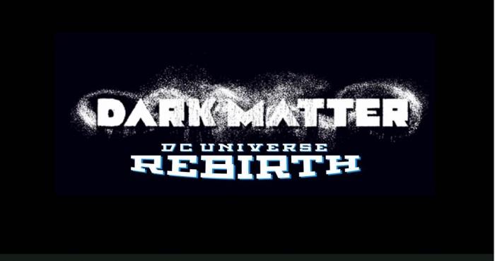 Dark Matter Portada