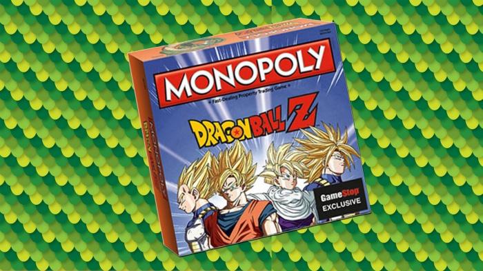 'Dragon Ball Z' tendrá su propio Monopoly (2)