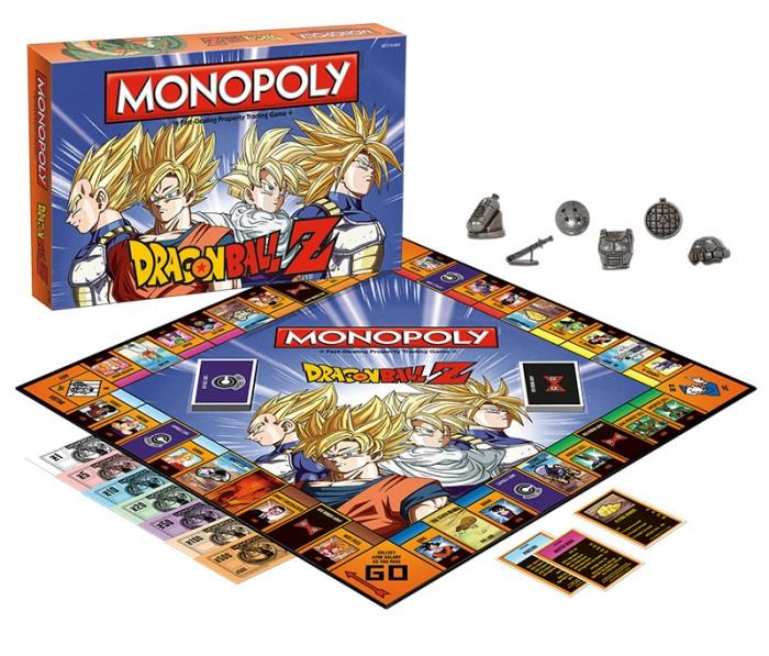 'Dragon Ball Z' tendrá su propio Monopoly (3)