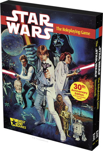Fantasy Flight Games presenta la Edición 30ª Aniversario de 'Star Wars El juego de rol' (2)