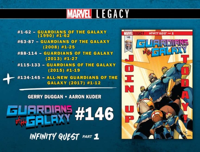 GUARDIANS OF THE GALAXY LEGACY2