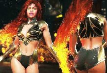 Injustice 2 Starfire gold