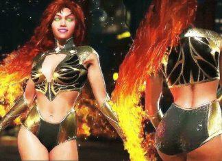 Injustice 2 Starfire gold
