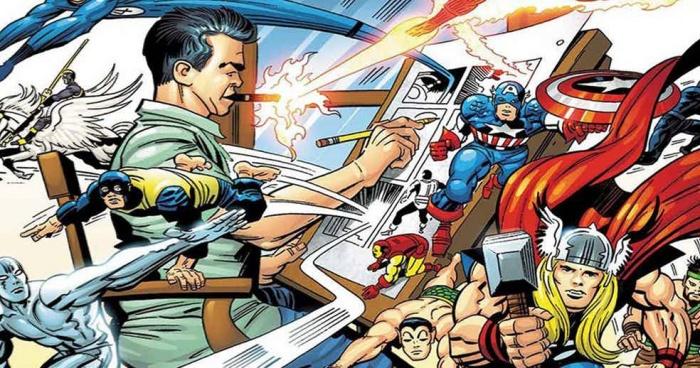 Jack Kirby Marvel Characters