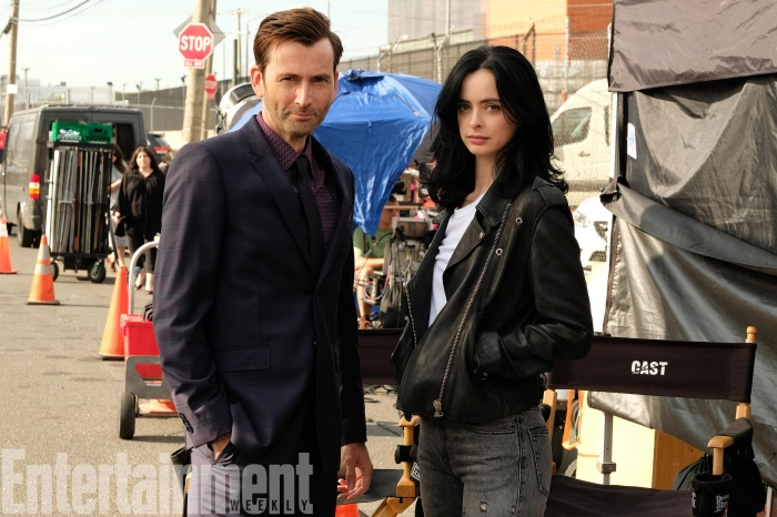 Jessica Jones - rodaje temporada 2 - David Tennant