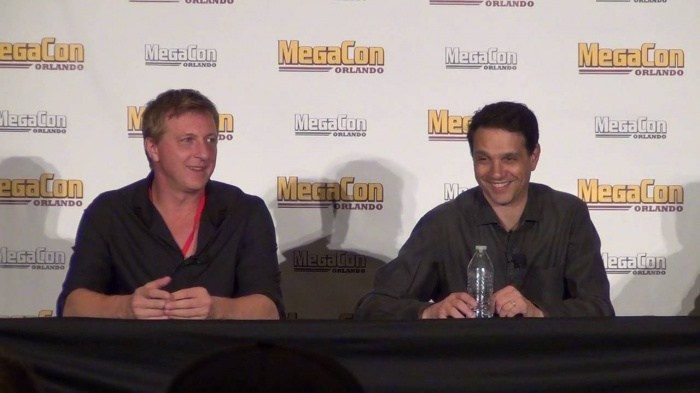 Karate Kid - Ralph Macchio y William Zabka actualmente
